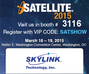 Skylink Technology at Satellite 2015